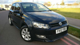 2012 Volkswagen Polo 1.2 ( 60ps ) Match +++MANY EXTRAS+++