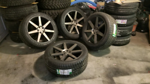 """22"""" Brand new beautiful set of rims and tires"""