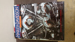 3 mint condition Harley-Davidson hardcover books