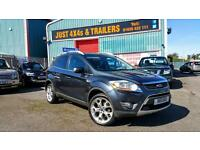 FORD KUGA 2.0TDCi DIESEL 4x4 2008 TITANIUM SERVICE HISTORY VERY CLEAN LONG MOT