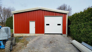 Steel buildings- annual clearance