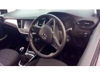2017 Vauxhall Crossland X 1.6 Turbo D ecoTec SE (Start S Manual Diesel Hatchback