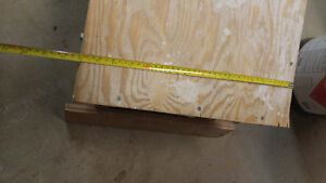 "FOLDING DRYWALL / PAINTERS BENCH 11.5"" HIGH 48"" LONG London Ontario image 4"