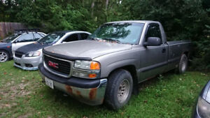 2000 GMC Sierra Part Out