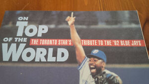 On Top of the World, Toronto Star's Tribute to '92 Blue Jays Kitchener / Waterloo Kitchener Area image 2