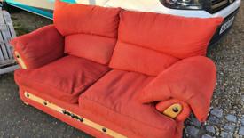 Free red sofa super comfy