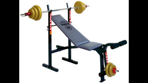 (BEST OFFER!!!) This Weight Bench Press + Over 270LBS for Sale!!