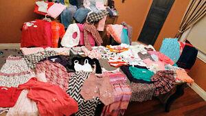 Lot de vêtements pour filles 7 et 8 ans