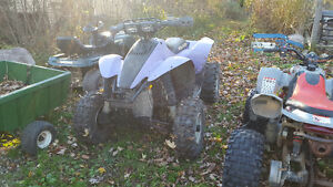 97 polaris scrambler 500 4x4 with ownership Windsor Region Ontario image 1