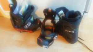 Size 5 boots and bindings