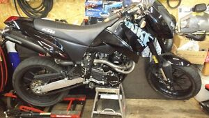 2002 KTM 640 Duke selling parts only!