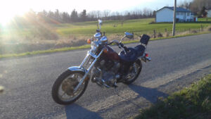 1985 Low Km safetied Yamaha Virago XV700 Excl Cond' asking $1800
