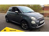 2017 Fiat 500 1.2 S 3dr Manual Petrol Hatchback