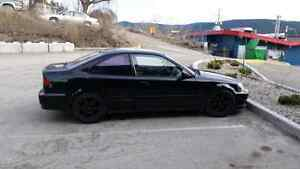 2000 Honda Civic SiR  Trade for jeep or chevy. Williams Lake Cariboo Area image 5