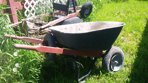 Double Wheel wheelbarrows