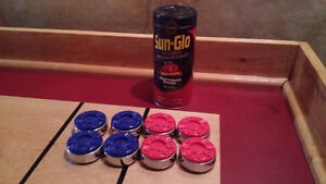 Shuffleboard pucks and table care products Belleville Belleville Area image 1
