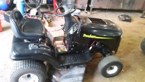 Poulan pro lawntractor
