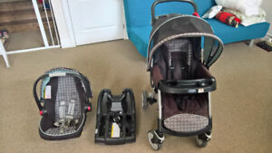 Graco Urbanlite Snug 35 Travel System with Car Seat