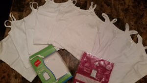 9 pieces Camis Size 2 new , never worn $15 for all 97% and 100 %
