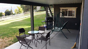 Bright, Furnished 1 Bdrm West Kelowna View Suite