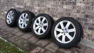 225 50 17 Audi / VW OE wheels and Winter Tires 17""