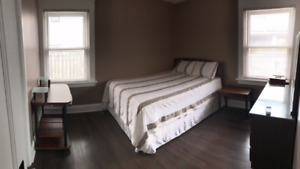 Furnished/Renovated Bedroom for rent in house