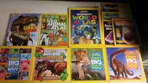 National Geographic Kids book set