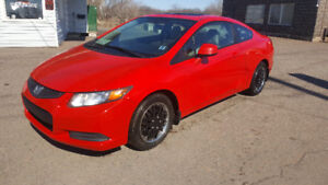 2012 HONDA CIVIC COUPE-MINT!!!!!