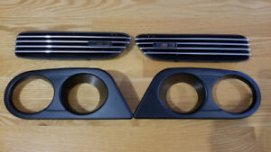 TRAPPE SIDE VENT HALO LIGHT BMW E46 M3 M SPORT CSL INSERT