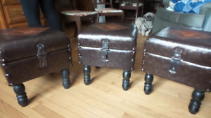 3 Antique Looking Chairs Steampunk