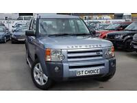 2008 LAND ROVER DISCOVERY 3 TDV6 HSE RARE IZMIR BLUE JUST 58000 MILES WITH