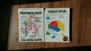 Adult educational coloring books