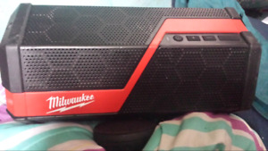 Milwaukee bluetooth speaker