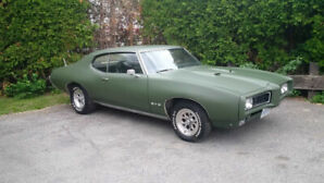 69 GTO  Very solid car.  Must go ASAP!