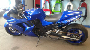 kawasaki zx14 ninja stretched mint condition
