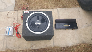 Great deal sub amp and wiring!