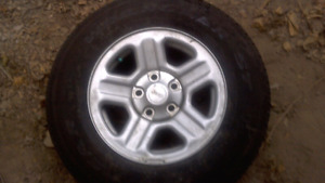 Goodyear tires and rims x5