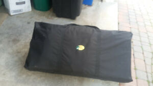 Camping equipment, kitchen, potti, shower tent