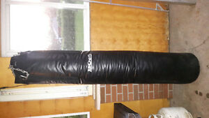Muay thai bag 6 ft tall about 115 lbs