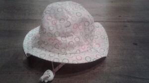 Chapeau anti uv 0-9 mois (small) fille