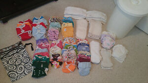 Cloth diapers and accesories