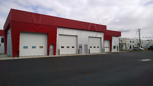 NEW 1680 sq ft industrial bay, 3 ton crane available