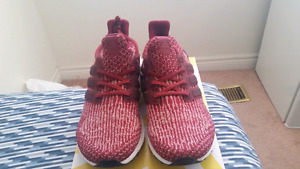 Ultra Boost 3.0 Burgundy DS - Size 10
