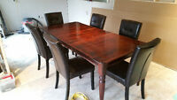 """Kitchen/Dining Table (6'6"""" with leaf)"""