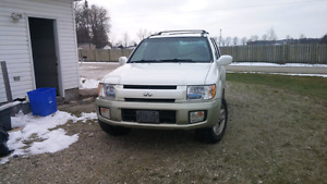 2001 infinti qx4 fully loaded with 4x4