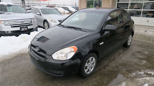 2009 Hyundai Accent Auto L Coupe 2door easy car loan no accident