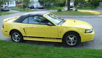 2002 Ford Mustang Convertible in great condition for sale