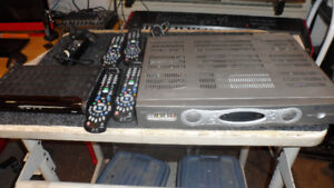 Two Cogeco receivers, one with PVR, four remotes $250 OBO