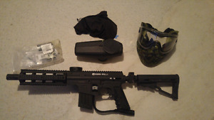 Tippman Sierra One Paintball marker package