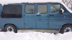 Dodge 3/4 ton conversion van 2500 obo or call Steve at